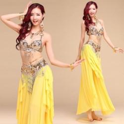 Costume orientale giallo...