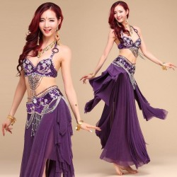 Costume orientale viola...